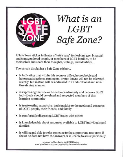 Image result for safe zone poster