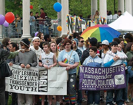 Bizarre Youth Pride Day in Boston May 9, 2009