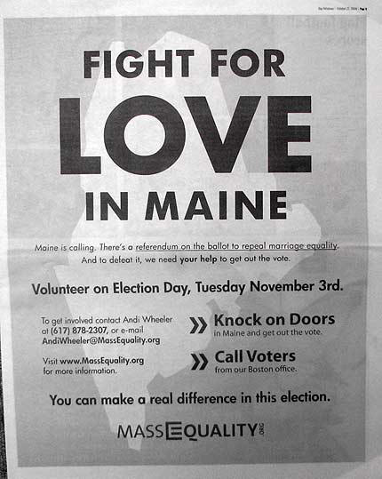maine gay election