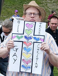 Gay friendly tea party activists