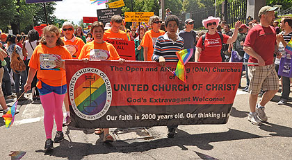 from Blaine boston church gay in