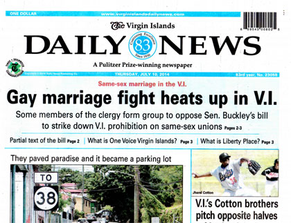 Virgin Islands Daily News Index Archives