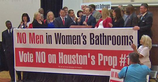 How The Houston Transgender U201cbathroom Billu201d Was Defeated Against  Overwhelming Odds