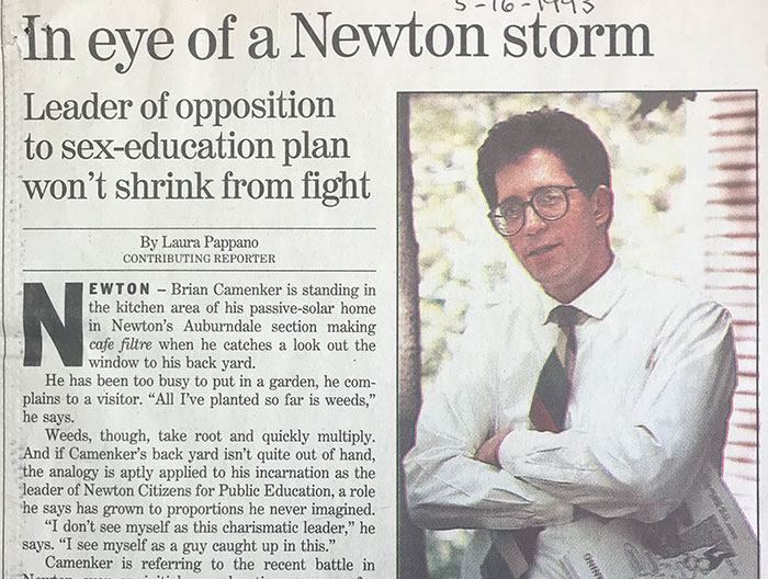 Globe article from 1993