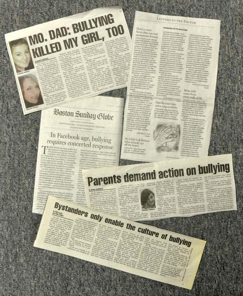 anti bullying newspaper articles
