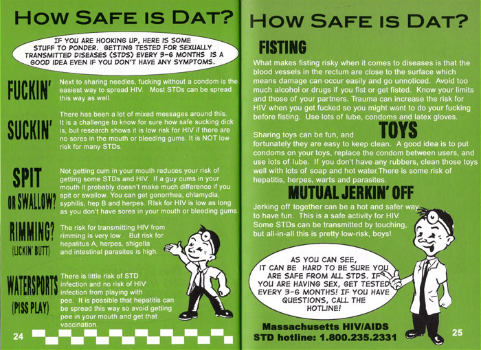 safe sex educational materials in Buffalo